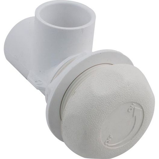 Waterway  On/Off Turn Valve Assembly  Single Port Five Scallop