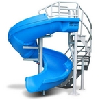 S.R Smith  Complete Pool Slide with Staircase