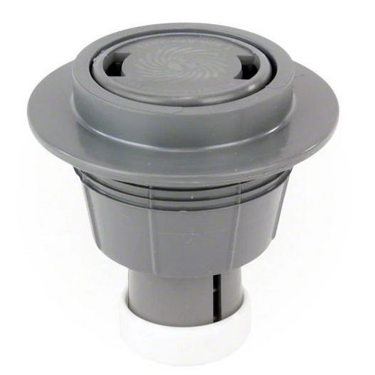 Caretaker High Flow Cleaning Head with 2in. Collar and Cap, Charcoal Gray