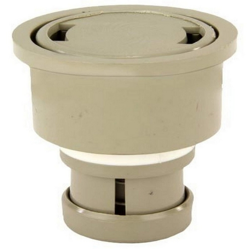 Jandy - Caretaker High Flow Cleaning Head with 2in. Collar and Cap, Pebble Gold