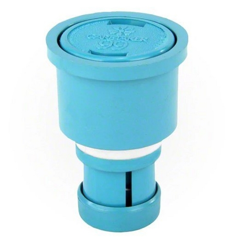 Jandy - Caretaker Cleaning Head with UltraFlex Collar and Cap, Tile Blue