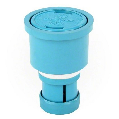 Jandy - Caretaker Cleaning Head with 2in. Collar and Cap, Tile Blue
