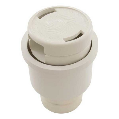 Jandy - Caretaker Cleaning Head with 2in. Collar and Cap, Bright White