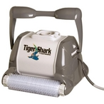 TigerShark 2 Robotic Automatic Commercial Pool Cleaner with Caddy Cart