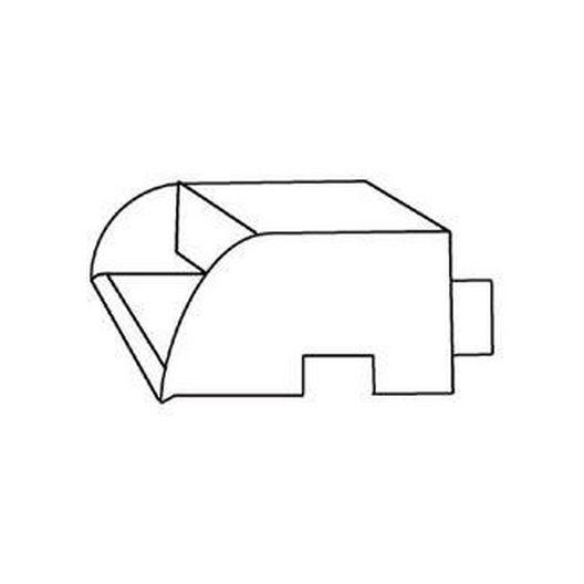 """Oreq - Custom Cascade Step Scupper Copper 8"""" - 320583"""