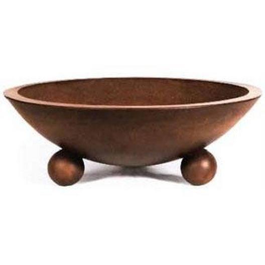 32in. Biltmore Manual Two Bowl Concrete Fire Bowl System