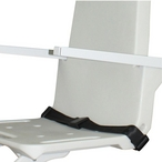Stainless Steel Optional Lift Seatbelt