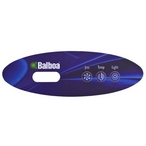Balboa - VI240 Control Panel Overlay with Jet, Temperature and Lighting Button Settings - 322168