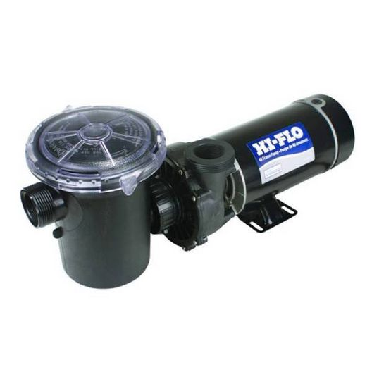 Waterway  Hi-Flo Side Discharge 48-Frame 1-1/2 HP Above Ground Pool Pump with 3 NEMA Cord 115V