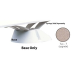Edge 6'/8' Base with Mounting Hardware (without Jig), White