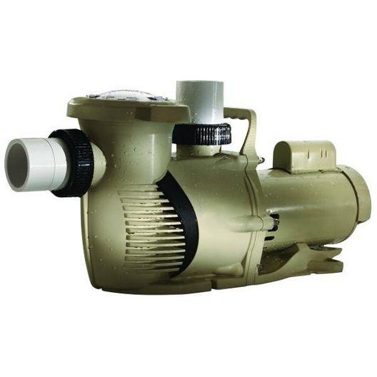 022019 WhisperFloXFK 3-Phase 5HP Single Speed Pool Pump, 208-230-460V