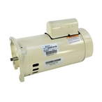 Single Speed 2HP High Efficiency Replacement Motor, 208-230V, Almond