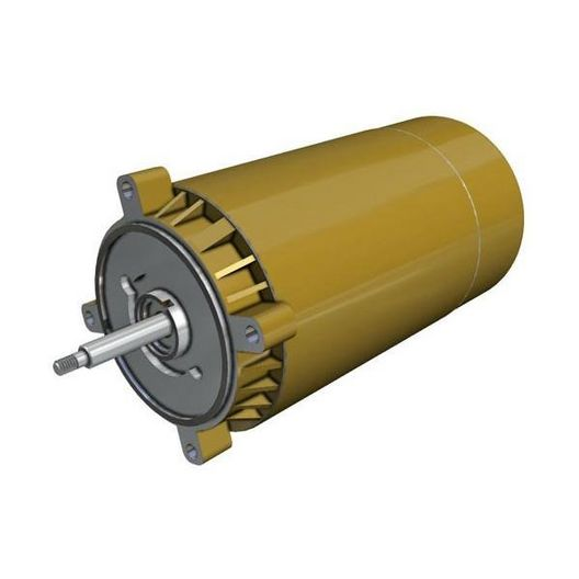1 HP Single Phase Two Speed Threaded Shaft 230V Motor for Super Pump