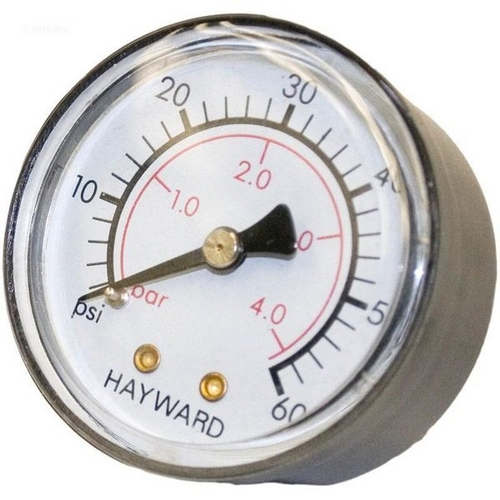 Hayward - Back Mount Pressure Gauge for Star Clear