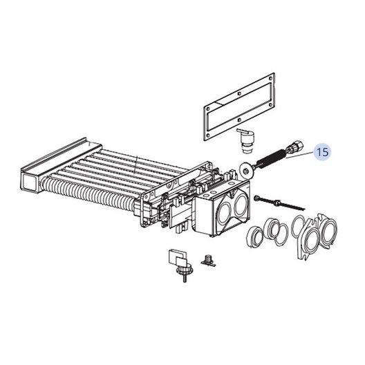 Lochinvar  Bypass Assembly for EnergyRite ER152-302 ASME