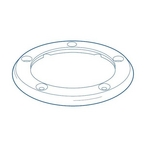 Paramount - Vanquish In-Floor Circulation and Cleaning System Top Body Ring, Gray - 324175