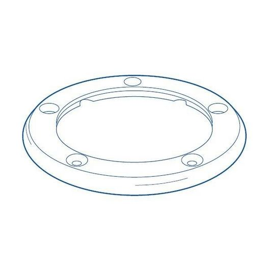 Vanquish In Floor Circulation And Cleaning System Top Body Ring Gray