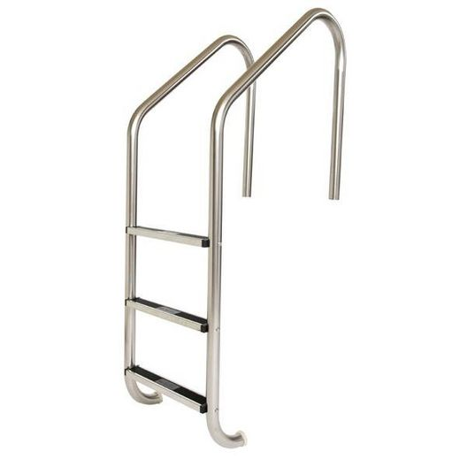 30in. Commercial 2-Step Pool Ladder with Stainless Steel Treads