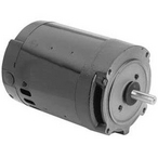 Squirrel Cage 56J 2 HP Three Phase Full Rated Pool Pump Motor, 7.0-6.6/3.3A 208-230/460V