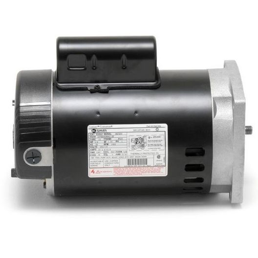 Century A.O. Smith - B2841 Square Flange 1HP Full Rated 56Y Pool and Spa Pump Motor - 324857