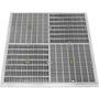 24in Plastic/Stainless Steel Stabilizer Frames, Dark Gray