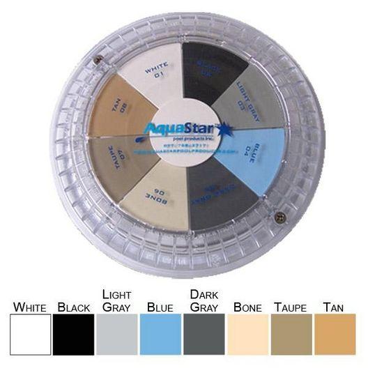 Aquastar - 24in Plastic/Stainless Steel Stabilizer Frames, Dark Gray - 32960