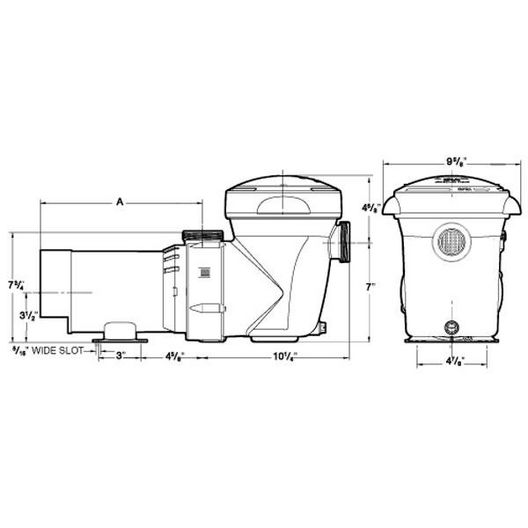W3SP1592 - 1HP Above Ground Pool Pump - Limited Warranty