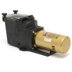 W3SP2610X15 Super Pump 1-1/2HP Single Speed Pool Pump, 115/230V