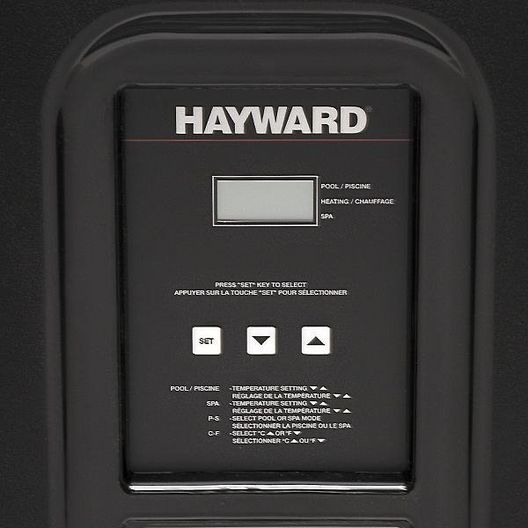 Hayward  W3HP21004T  95K BTU 230V Titanium Digital Heat Pump  Limited Warranty