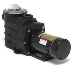 W3SP3007X10AZ Super II Up-Rated Single Speed 1HP Pool Pump, 115V/230V