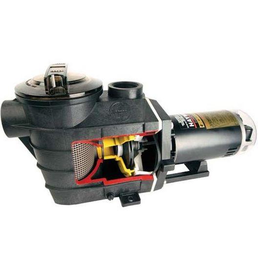 W3SP3025X30AZ Super II Up-Rated Single Speed 3HP Pool Pump, 115V/230V