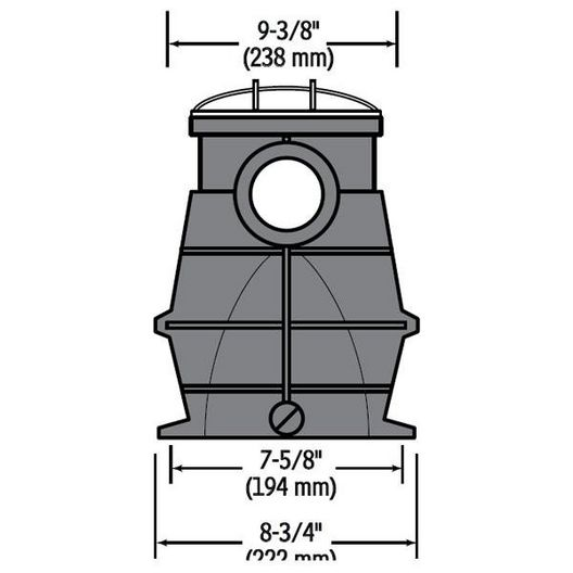 Hayward - W3SP3025X30AZ - Single Speed 3HP Pool Pump, 115V/230V - Limited Warranty - 340129