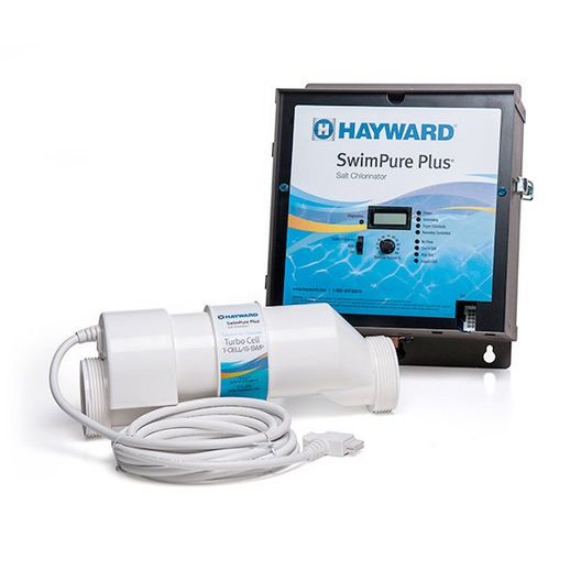 Hayward - Swimpure Plus Salt System and Turbo Cell 25,000 Gallons with 15' Cord - 340134