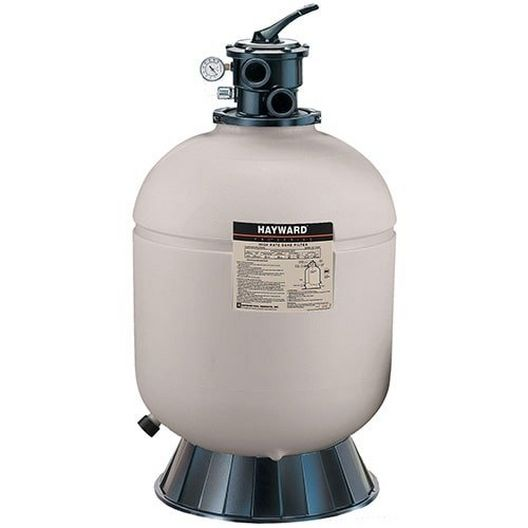 Hayward  W3S210T  21 Sand Filter with 1-1/2 Top Mount Multiport Valve Limited Warranty