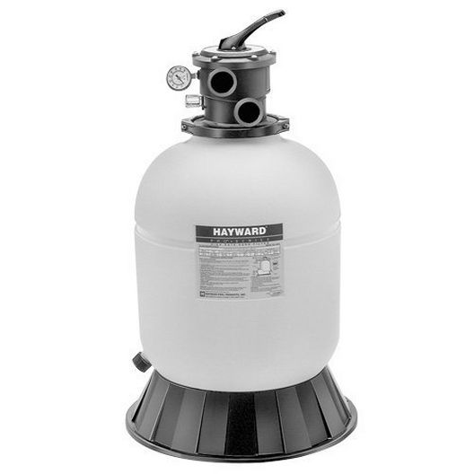 Hayward - W3S210T93S - Top-Mount Sand Filter and 1-1/2HP Power-Flo Pump- Limited Warranty - 342090