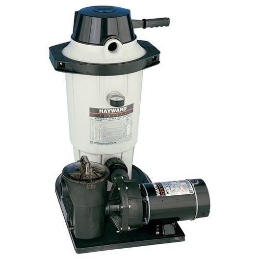 Hayward  W3EC50C93S  DE Filter 25 sq ft with 1-1/2HP Pump Combo  Limited Warranty