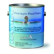 Ramuc - Type A Chlorinated Rubber Pool Paint, 1 Gallon, Dawn Blue - A32801