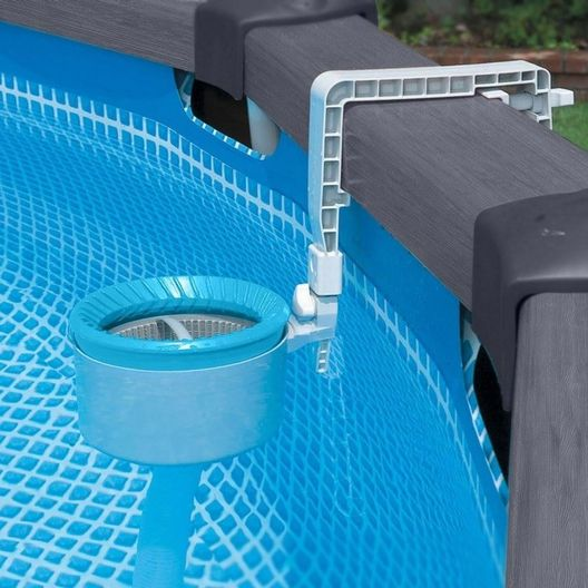 Intex - 28000 Deluxe Wall Mount Surface Skimmer for Above Ground Pools - 34754