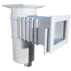 Auto-Skim 1 Fib Threaded Square Skimmer for Vinyl/Fiberglass Pools