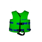 Texas Recreation - Child Vinyl Life Vest, Small - Fierce Green - 359993