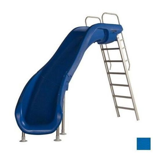 S.R. Smith - 610-209-5823 Rogue2 Pool Slide with Left Curve, Marine Blue - 360510