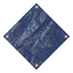 PS28RD-10 Deluxe 28' Round Winter Pool Cover, 10 Year Warranty, Blue