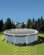 Pro 33' Round Winter Pool Cover, 15 Year Warranty, Silver