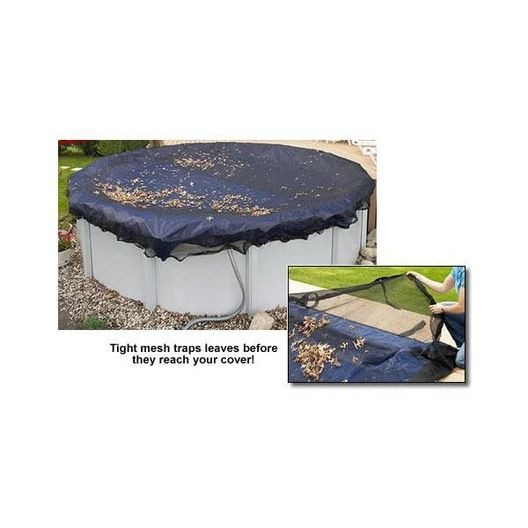 Arctic Armor - 15' x 30' Oval Above Ground Leaf Net with 4-Year Warranty - 360657