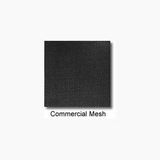 Arctic Armor - 18' x 40' Commercial Mesh Safety Cover with Center End Step - Black - 30 yr Warranty - 360838