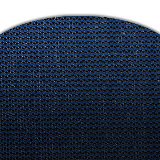 Leslie's - Pro SunBlocker Mesh 18' x 36' Rectangle Safety Cover with 4' x 8' Right Side Step, Blue - 360862