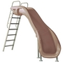 Rogue2 Pool Slide with Right Curve, Taupe