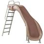 Rogue2 Slide, Gray, Left Curve