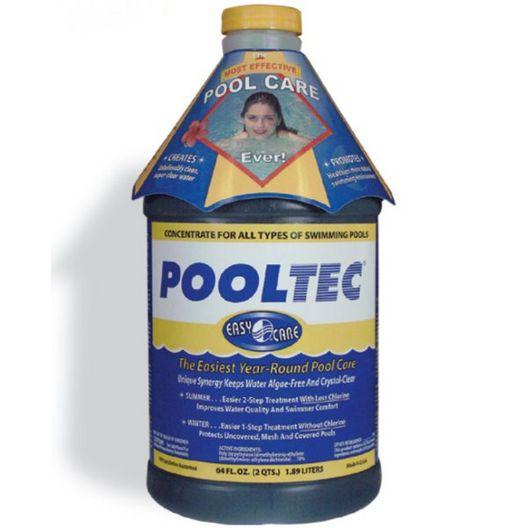 PoolTec Algaecide, Clarifier, and Chlorine Salt Cell Booster, 64 oz.