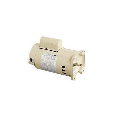355024S Square Flange 1.5 HP Full Rated 56Y Single Speed Pool Motor 115/230V